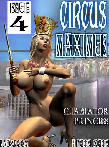 Hipcomix - Circus Maximus 1-5 - Supergirl, 3D Porn Comic Download Comics
