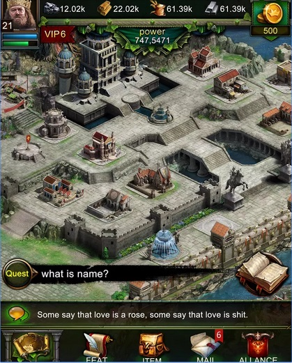 Clash of Kings V.1.1.2 Hileli Mod Apk indir