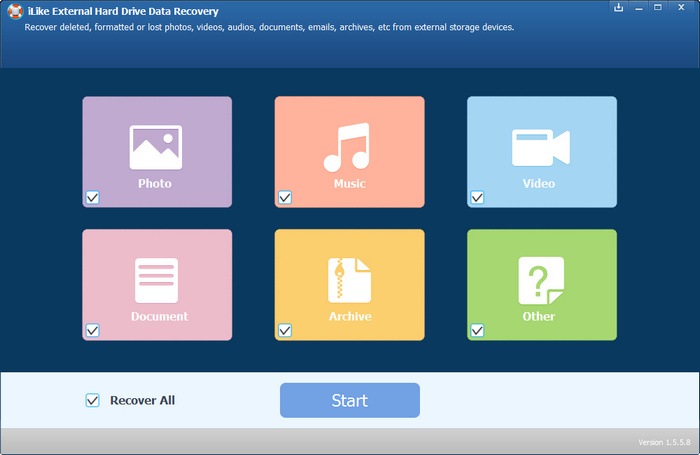 download ILike.External.Hard.Drive.Data.Recovery.v1.5.8.8.Multilanguage-LAXiTY