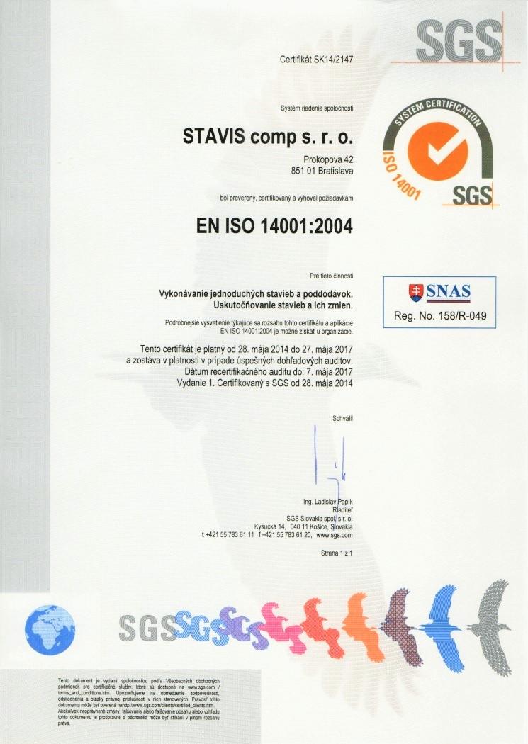 EN ISO 14001  2004