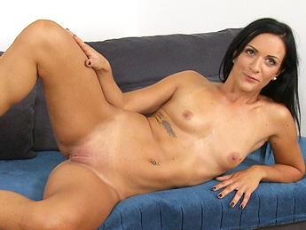 Sophie (Black Haired German Babe Wants To Be A Glamour Model)   Cover