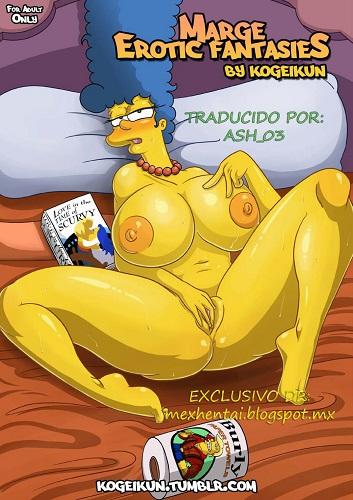 Kogeikun - Las Fantasias Eroticas de Marge (Spanish)