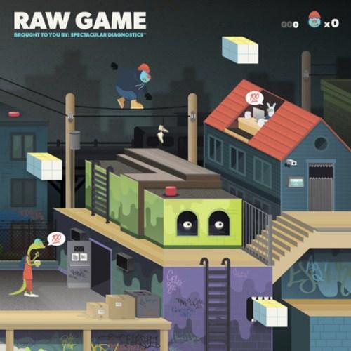 Spectacular Diagnostics - Raw Game LP (2015)