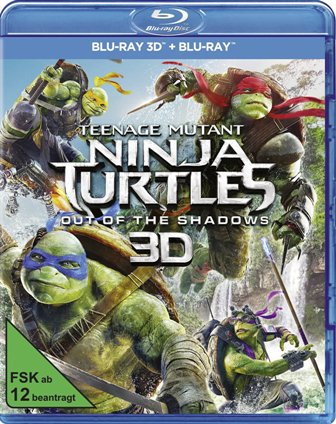 : Teenage Mutant Ninja Turtles 2 Out of the Shadows 2016 3d hsbs German ac3d dl 1080p BluRay x264 LameHD