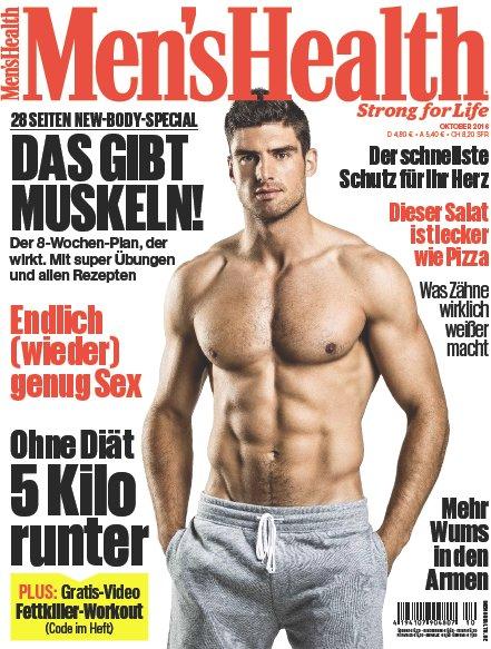 Mens Health Deutschland Magazin Oktober No 10 2016