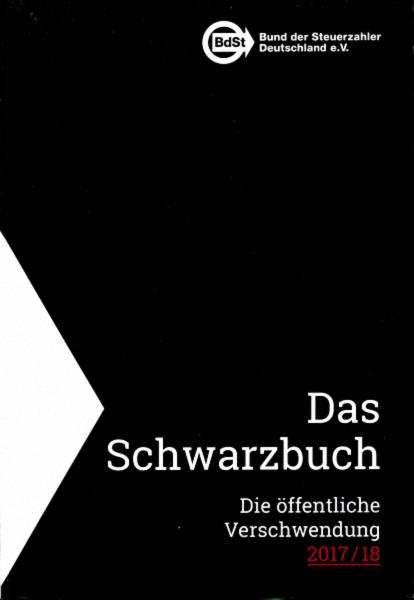 Buch Cover  Schwarzbuch der Steuerzahler 2017/18