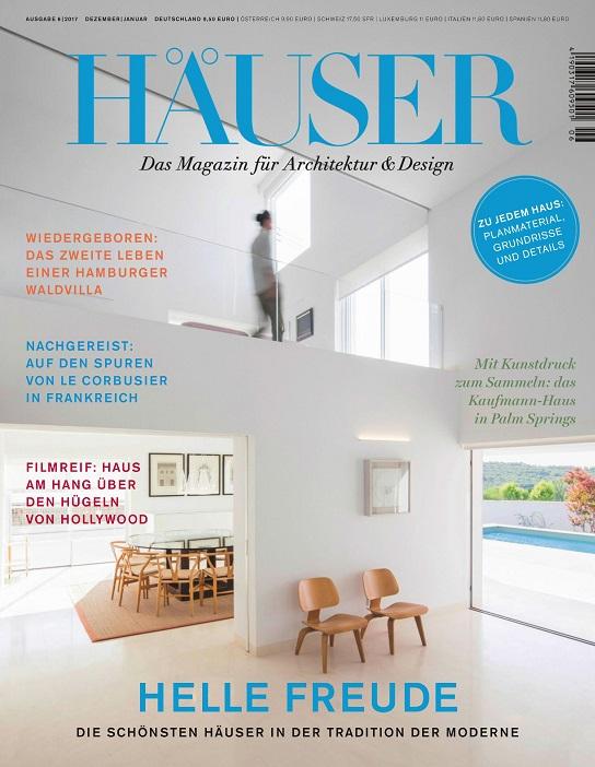 h user das magazin f r architektur und design jahresthema 2017. Black Bedroom Furniture Sets. Home Design Ideas