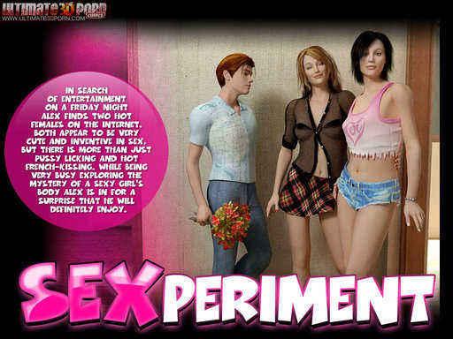Sexperiment Cover