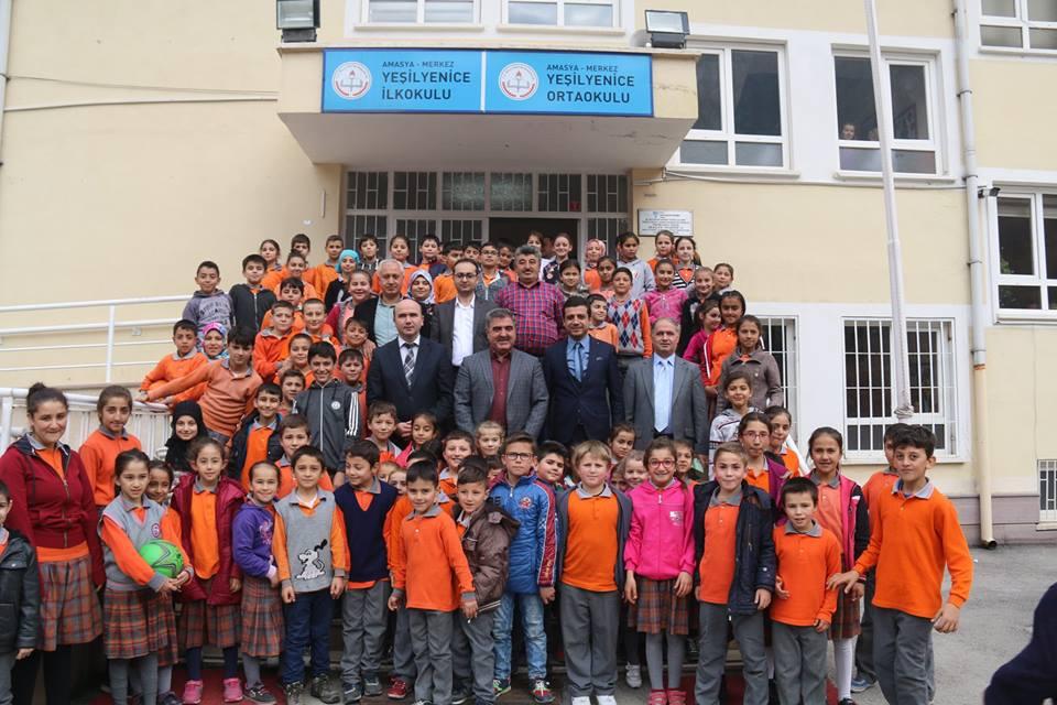 Belediye Başkanımız Cafer Özdemir Okul Ziyaretlerini Sürdürüyor