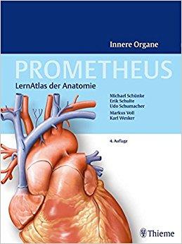 Buch Cover für Prometheus - LernAtlas der Anatomie: Innere Organe