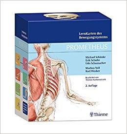 Buch Cover für PROMETHEUS LernKarten des Bewegungssystems