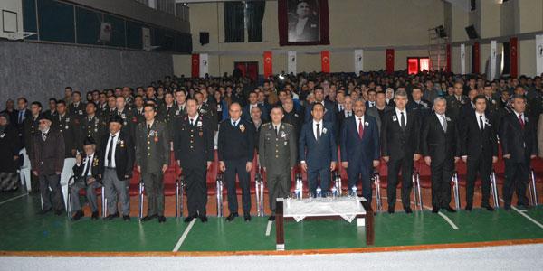 Gazi Mustafa Kemal Atatürk'ü saygı ve minnetle andık