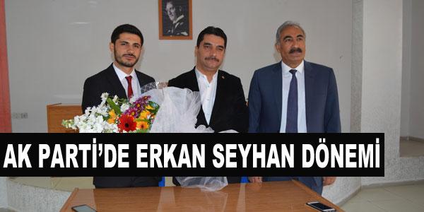 AKP İlçe Başkanlığına Erkan Seyhan seçildi