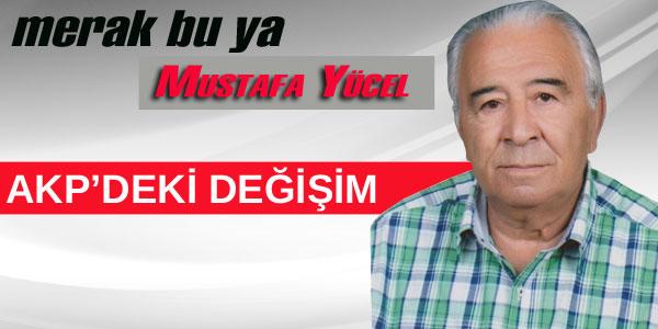 AKP'deki değişim