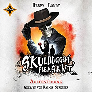 Hörbuch Cover Auferstehung Skulduggery Pleasant 10 by Derek Landy