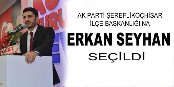 AK Parti Şereflikoçhisar İlçe Kongresi yapıldı