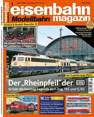 : Eisenbahn Magazin Januar 2018