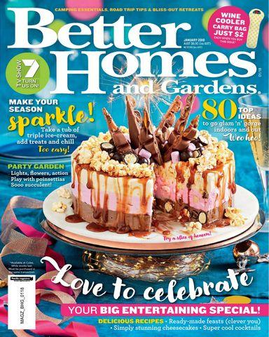 : Better Homes and Gardens Au 02 2018