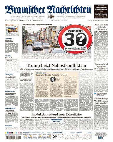 : Bramscher Nachrichten 07 Dezember 2017