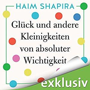 Hörbuch Cover Glück und andere Kleinigkeiten von absoluter Wichtigkeit by Haim Shapira