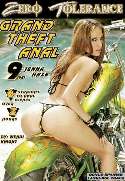 Grand Theft Anal 9 Cover