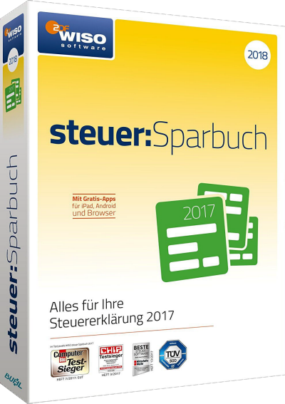 WISO Steuer Sparbuch 2018 v25.07 Build 1752
