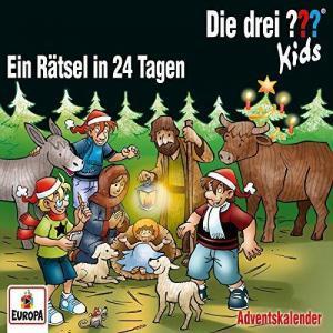 Die drei Fragezeichen Kids Adventskalender Ein Raetsel in 24 Tagen