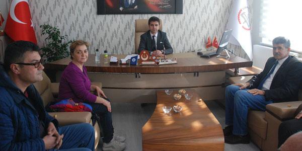 Milli Eğitim Müdürüne CHP'den ziyaret