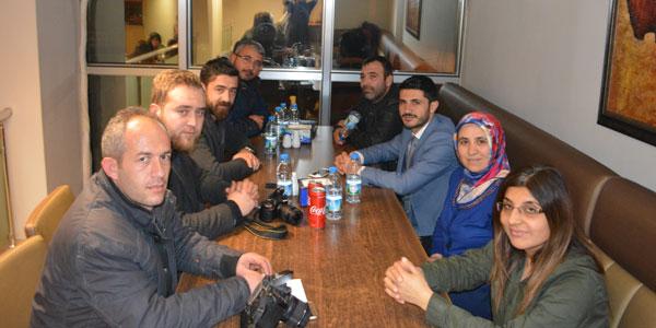 Erkan Seyhan muhabirlerle yemekte biraraya geldi