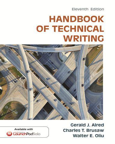 handbook of technical writing alred pdf converter