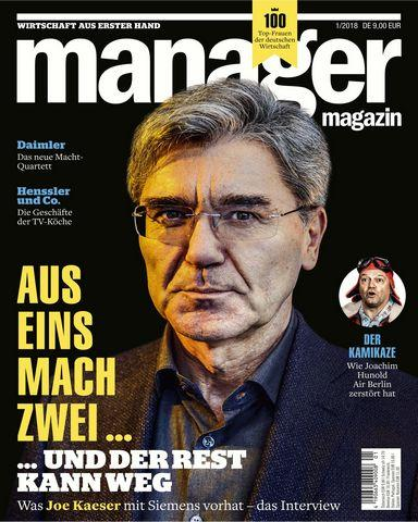 Manager Germany Nr 01 Januar 2018