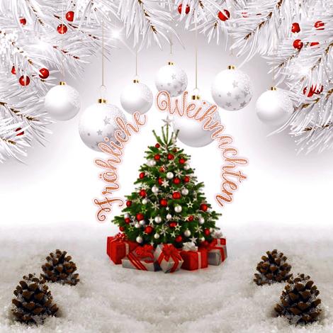 Frohe Weihnachten Iefavolk