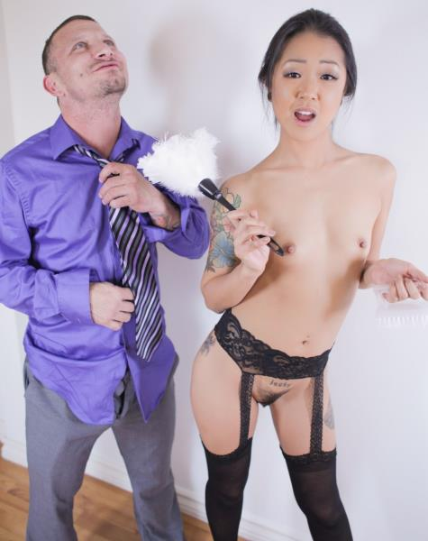 Saya Song - Anal Asian Housekeeper Squirts! 720p Cover