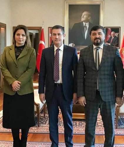 GİRESUN'DA AKP'NİN YENİ HANIMAĞASI