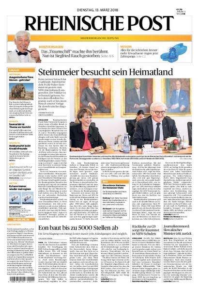 : Rheinische Post Mettmann 13 Maerz 2018