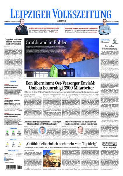 : Leipziger Volkszeitung Muldental 13 Maerz 2018