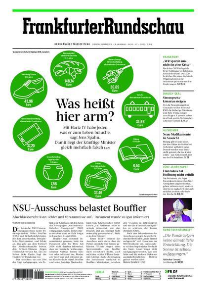 : Frankfurter Rundschau Hochtaunus 13 Maerz 2018