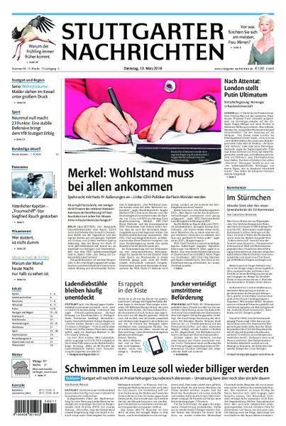 : Stuttgarter Nachrichten Strohgaeu Extra 13 Maerz 2018