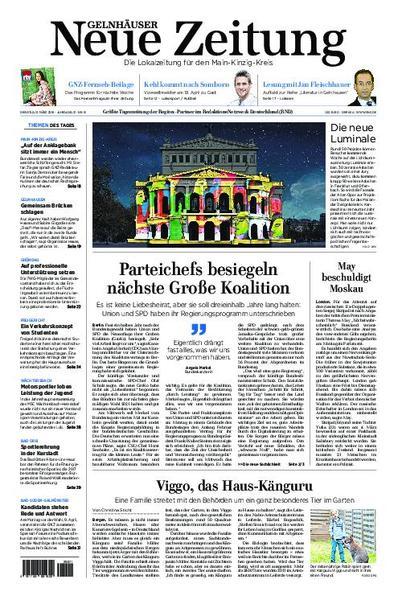 : Gelnhaeuser Neue Zeitung 13 Maerz 2018