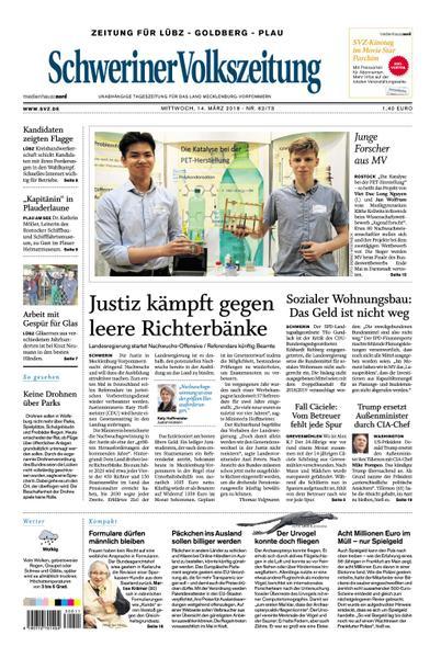 Schweriner Volkszeitung Lübz