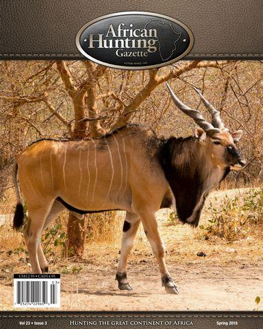 : African Hunting Gazette January 2018