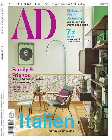 : Ad Architectural Digest Germany April Mai 2018