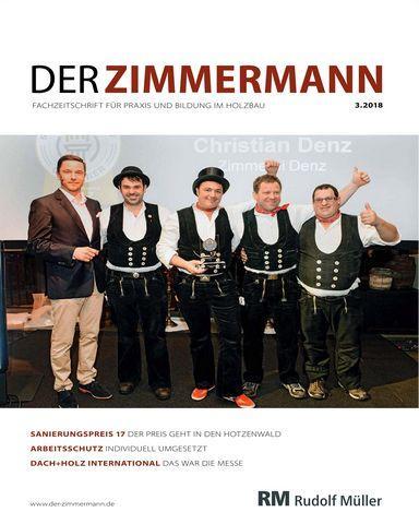 : Der Zimmermann Nr 3 2018