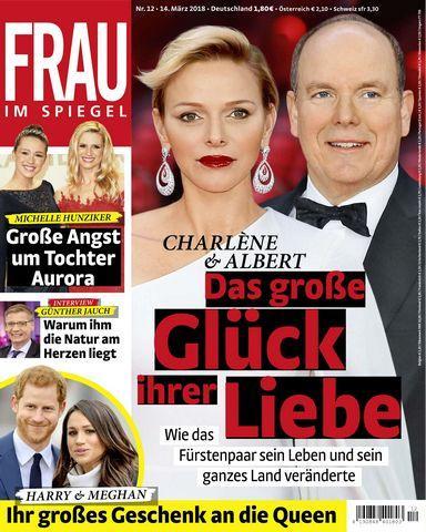 : Frau im Spiegel 14 Maerz 2018
