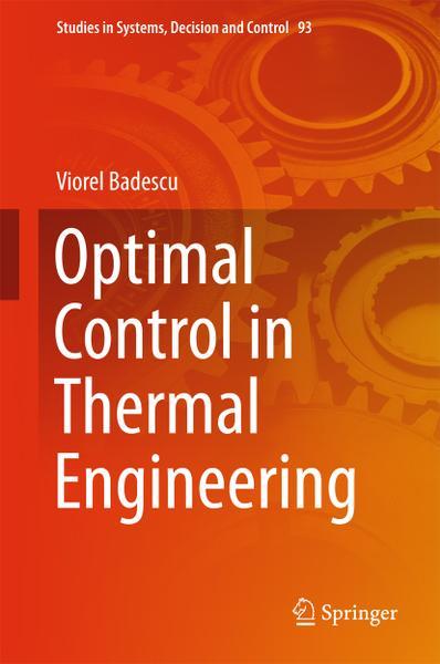 : Optimal Control in Thermal Engineering