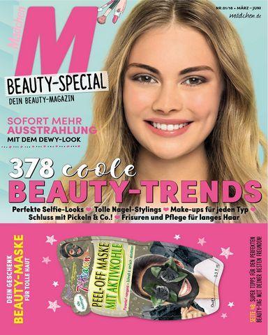 Maedchen beauty special nr 1 maerz juni 2018 for Spiegel cover juni 2018