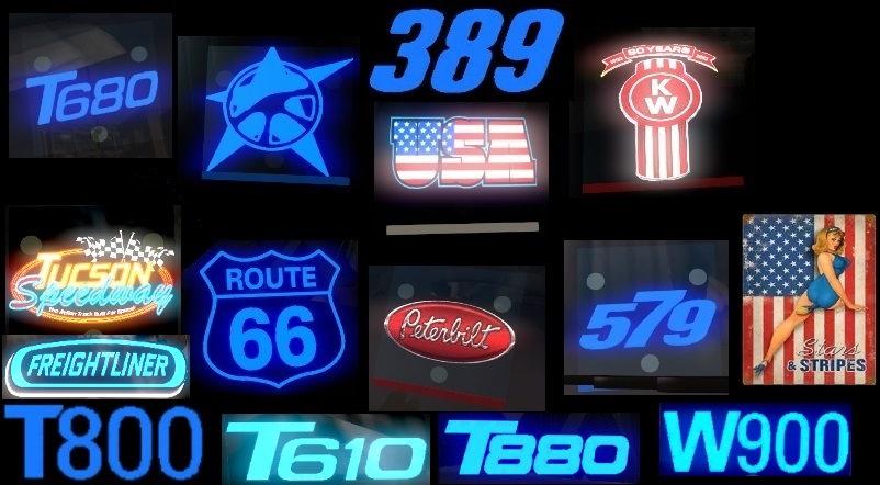 ATS Truck Brand Windshield V5 Pryynihi