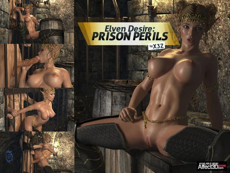 Elven Desires 01 Prison Perils by HitmanX3Z