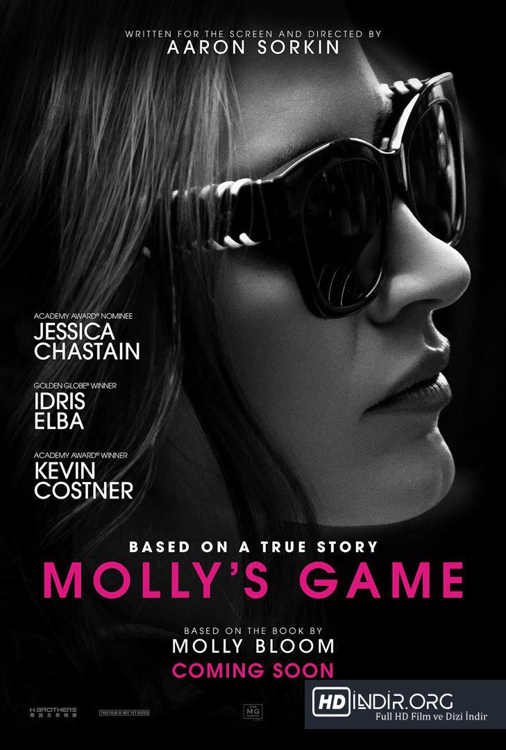 Molly'nin Oyunu - Molly's Game (2017) Türkçe Dublaj 720p indir