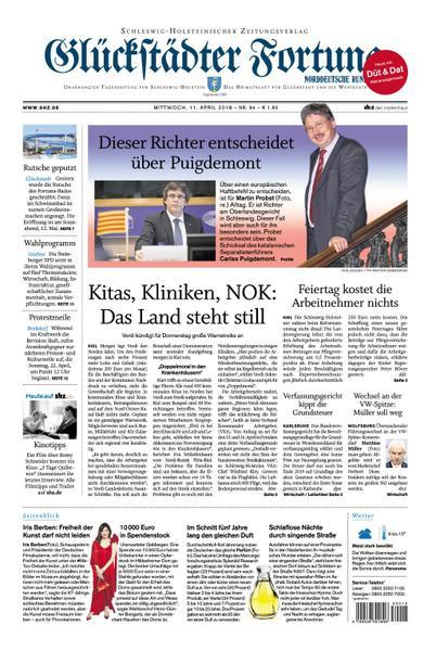 Glueckstaedter Fortuna 11 April 2018